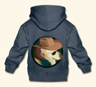 Screenshot_2018-11-29 Beth Crane Art Jasper the Cowboy Dog - Kids Premium Hoodie