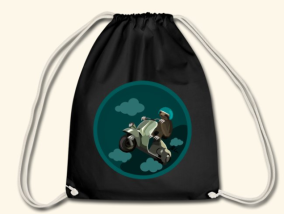 Screenshot_2018-11-29 Beth Crane Art Sloth on a Scooter - Drawstring Bag